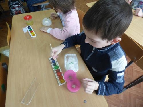 Тематическое занятие « Получение цветной соли, изготовление сувенира»
