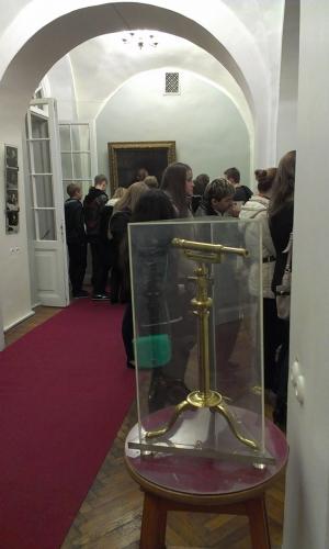 В Музее Д.И. Менделеева. СПб. 179 лицей.