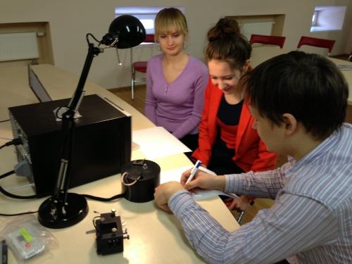 Мастерская  «Сканирующий  зондовый микроскоп» (мастер С.Смирнов – ЦПТ, Москва)