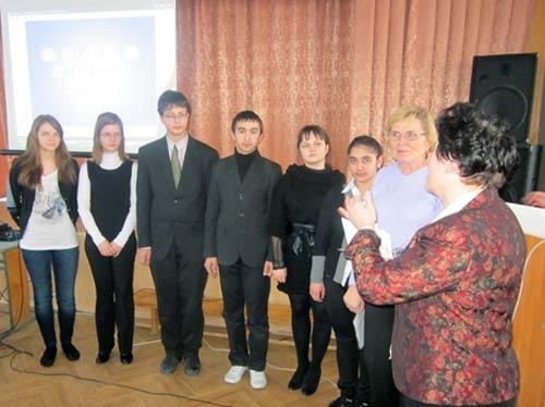 Награждение участников конференции