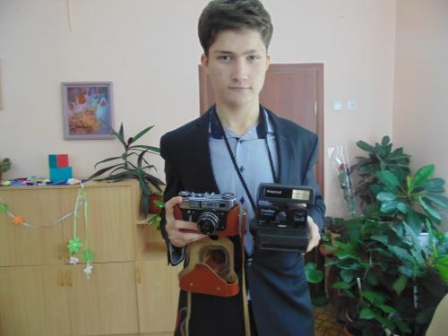 Эволюция фотоаппарата и радиоприемника в МБОУ гимназия №42 г. Пензы