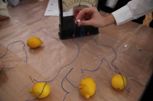 фруктовая  батарейка