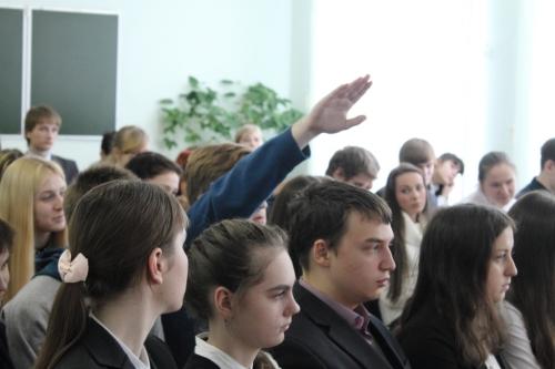От успеха ученика к успеху ученого. Встреча учащихся лицея  №55 г. Пензы с молодыми учеными г. Пензы
