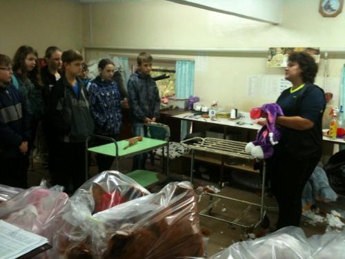 МБОУ СОШ № 36 г.о. Самара 6Б класс экскурсия на завод мягкой игрушки Божья коровка