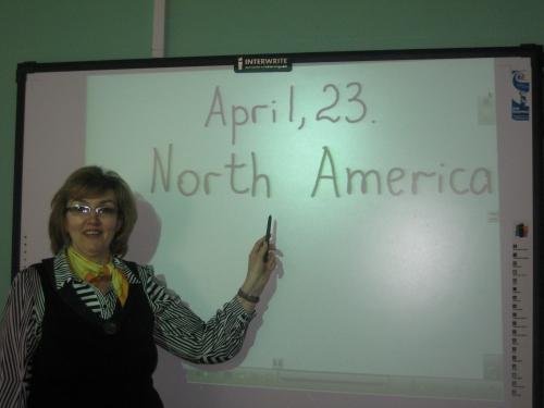 """Метапредметный урок """"Северная Америка"""" География и страноведение США и Канады на английском языке"""