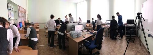 Лаборатория Кибернетики в лицее