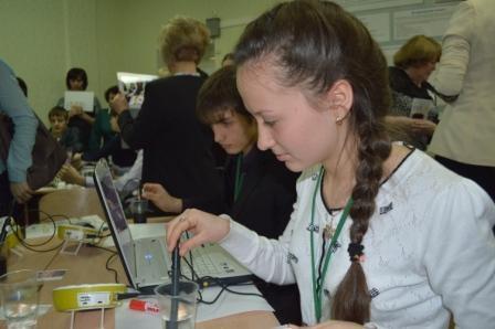 школьный технопарк в марте 2014