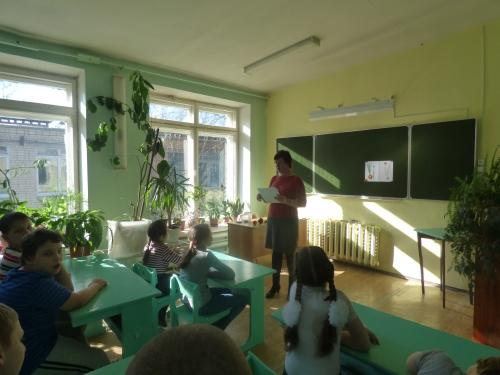 """Бинарный урок по развитию устной речи в 3 """"Г"""" классе и биологии в 7 """"В"""" классе """"Овощ-лук. Посадка лука"""""""