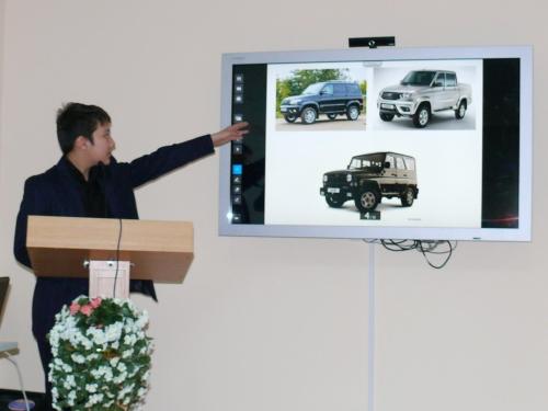 """Бембиев Александр, учащийся 8 """"в"""" класса. Защита проекта"""