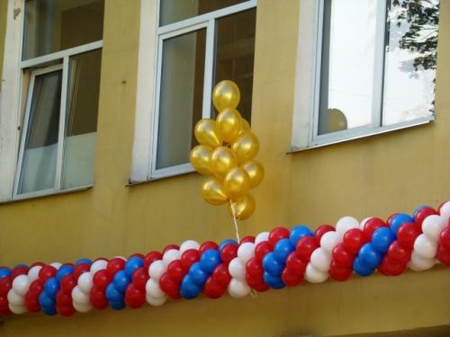 Школа № 327 отмечает 1 сентября