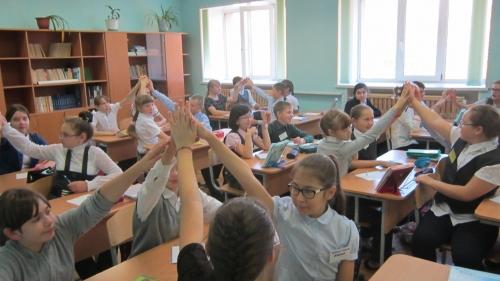 Урок-мастерская по русскому языку в 5 классе (10.09.2015)