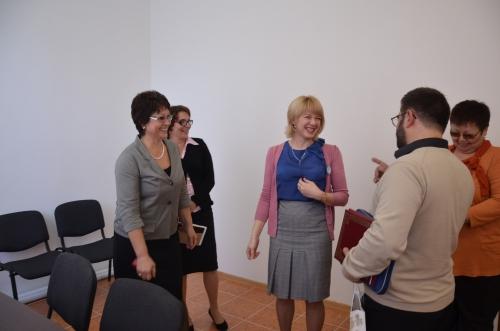 встреча лицеистов с М.М. Эпштейном 18.10.2012